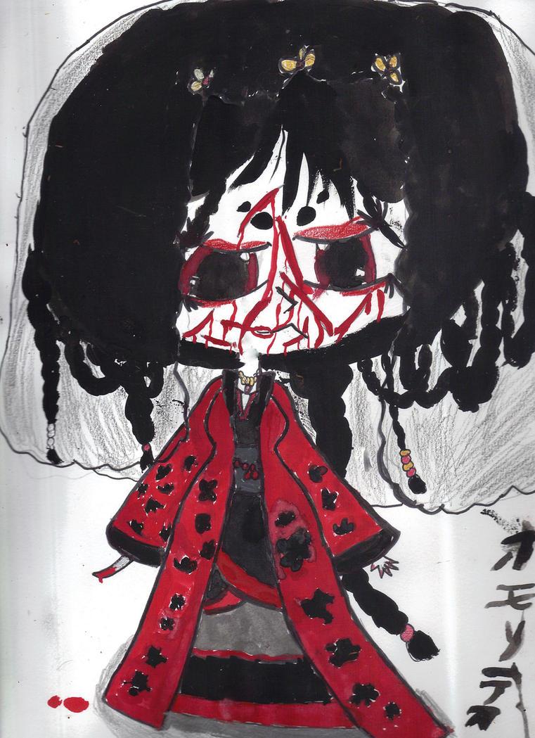 Disfigured Princess by AkaiChounokoe