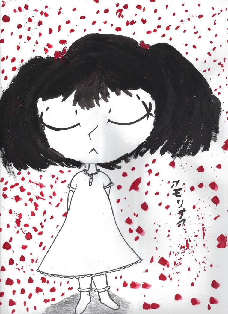 A World Spattered in Blood by AkaiChounokoe