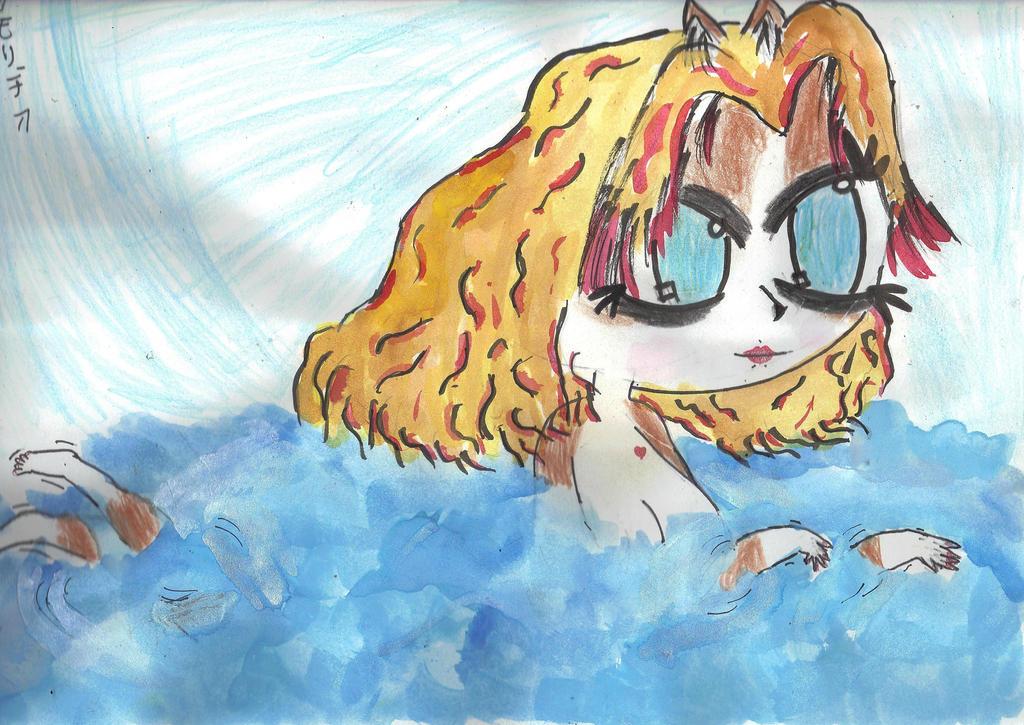 Swimming by AkaiChounokoe