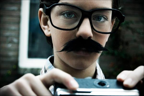 Moustache I by Muuzert