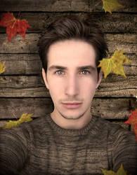 Autumnhead by Muuzert