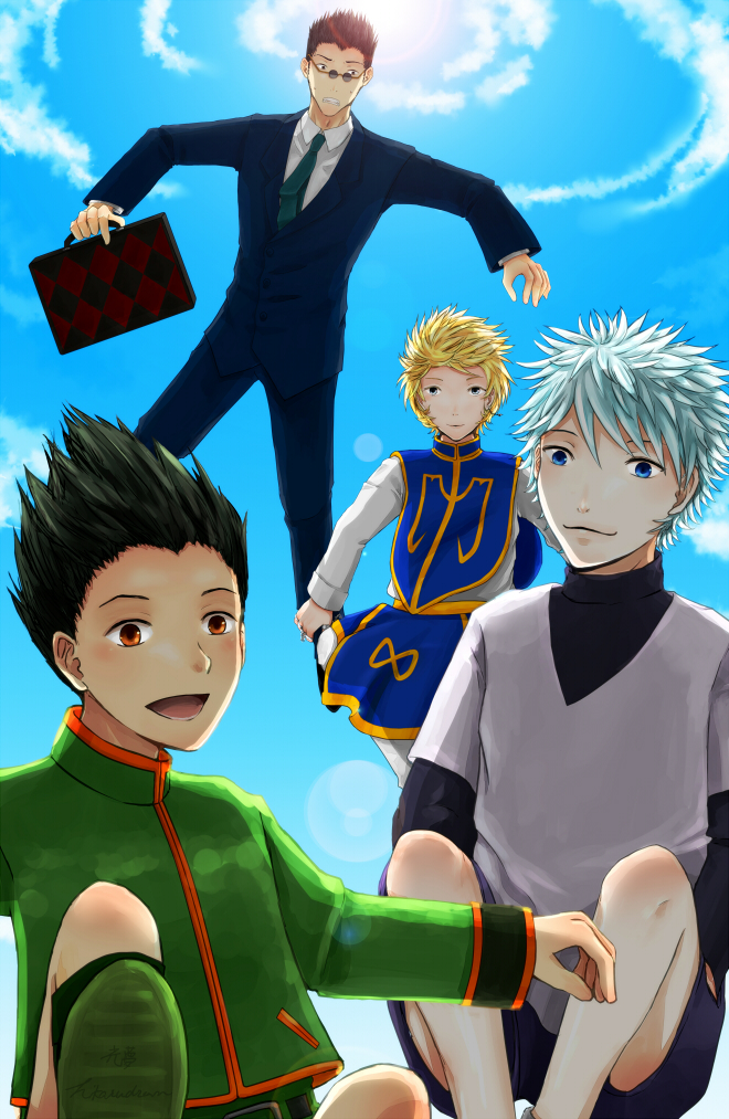 Hunter x Hunter by midnigh7shad0w