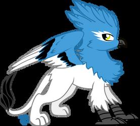 Griffin OC ~ Azure Skyjay by VinylBecks