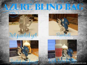 Azure Blind Bag by VinylBecks