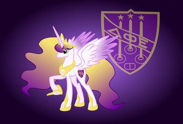 Princess Delta Phi Eplison with Background by VinylBecks