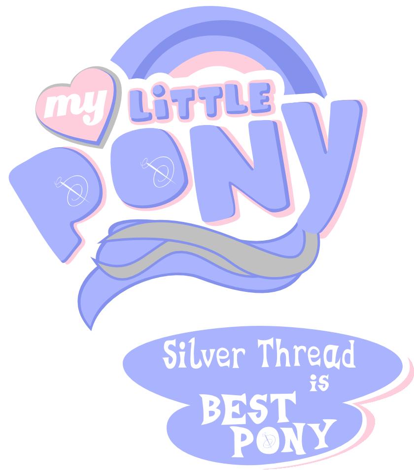 Silver Thread Is Best Pony By Vinylbecks On Deviantart