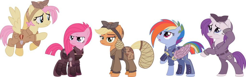 Ponies Of The Sombra Wars By Vinylbecks On Deviantart