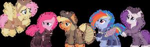 Ponies of The Sombra Wars