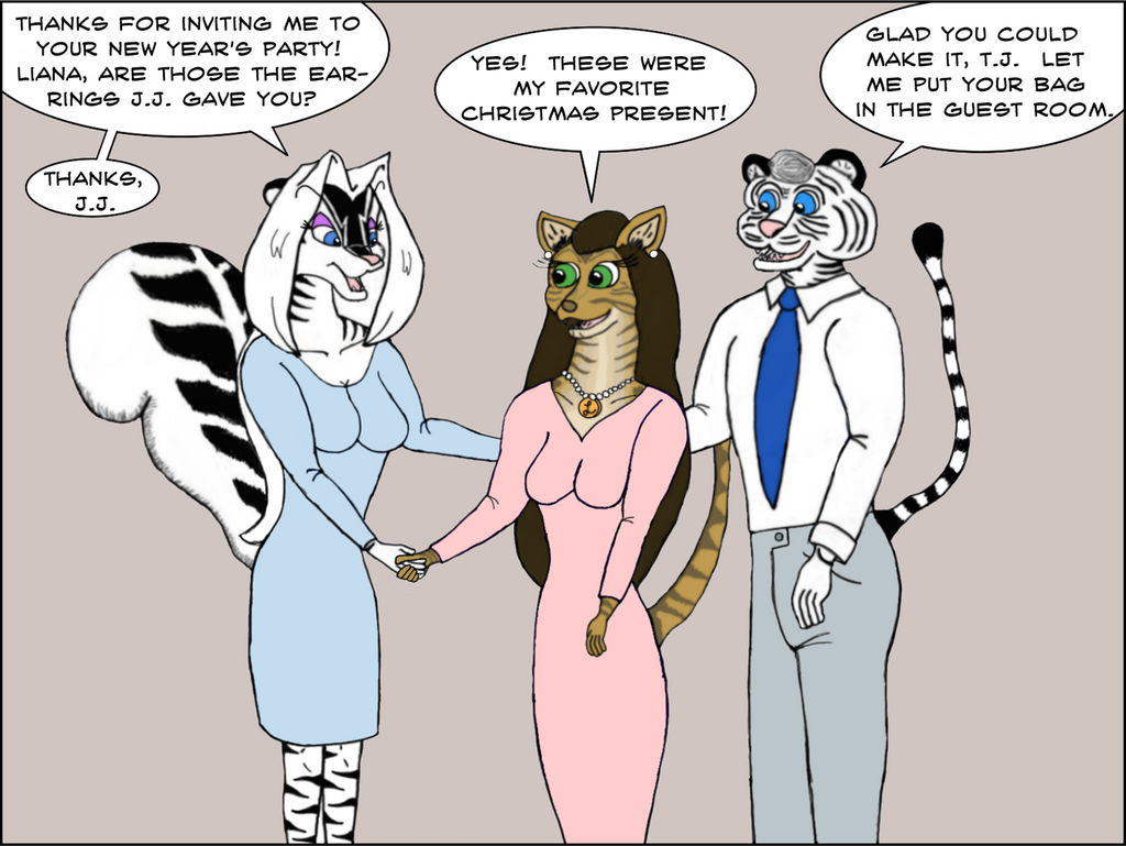 Bengal Tales - New Year's Eve by Tigershark620