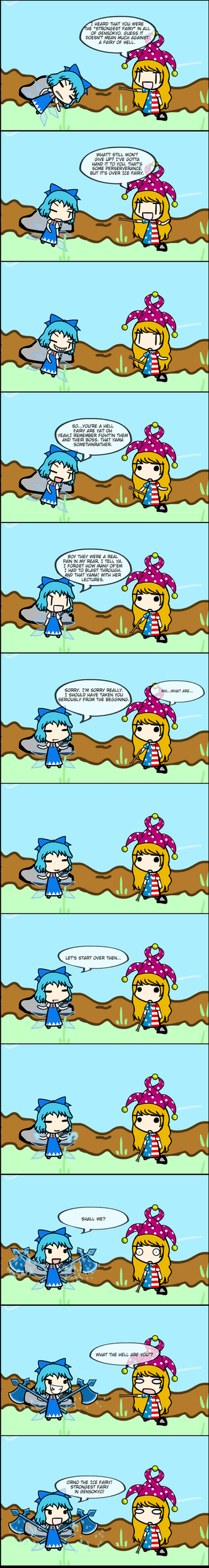 Every Cirno Has Her Day by Carlos1225