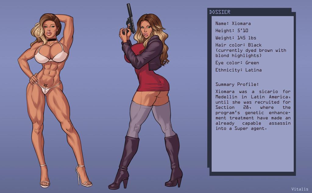 Xiomara dossier  by BlackRonin72