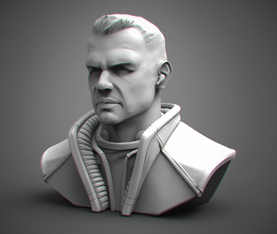Gen. Eric Sculpt_2 by DevindraLeonis
