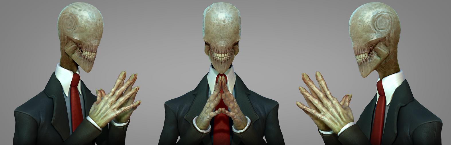 Slender bust detail by DevindraLeonis