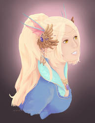 Faerie princess by Elementis