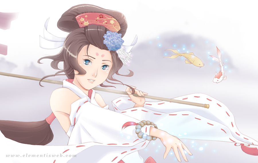Koi Miko - Close up