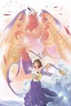Final Fantasy X Yuna-Valefor