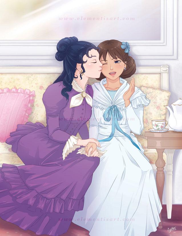 Princess Sarah and Becky