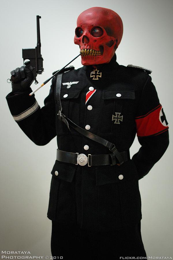 Red Skull by Morataya