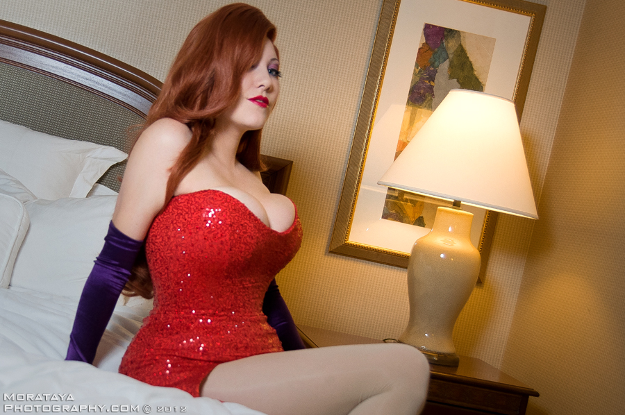 Jessica Rabbit - AWA 2012 by Morataya