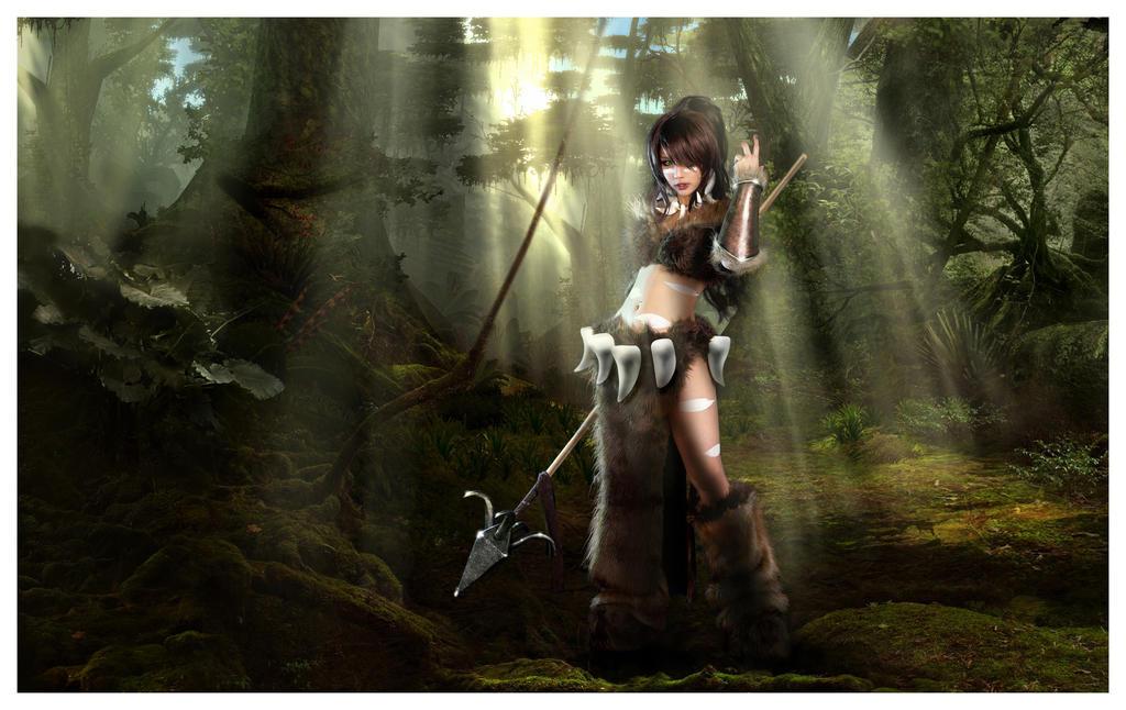 Tasha cosplay nidalee