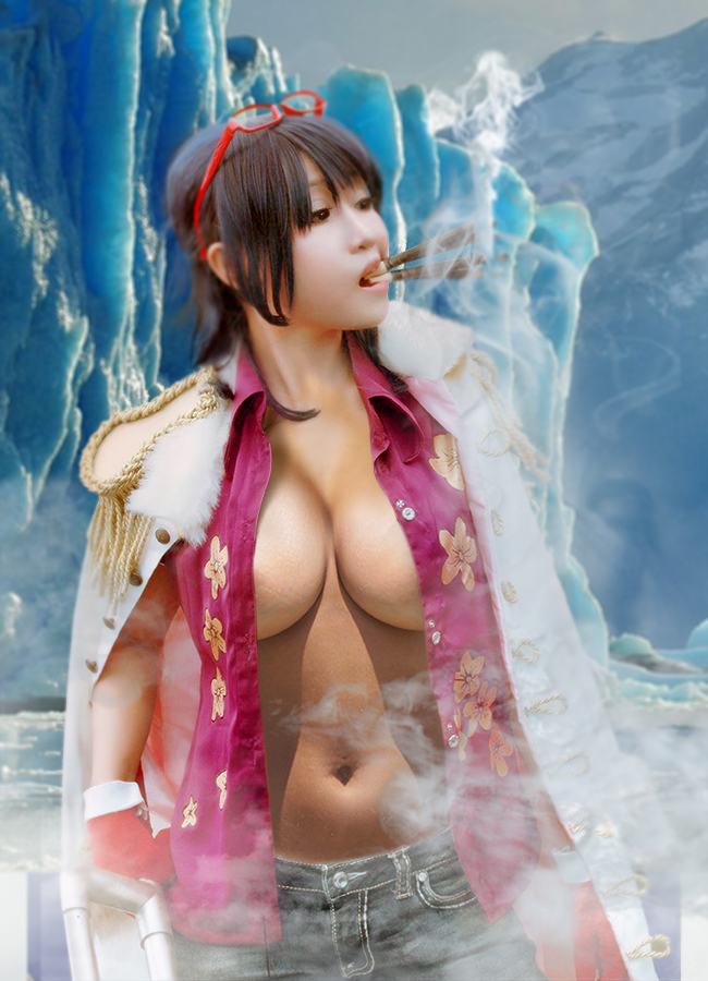 from Carlos sahara one piece cosplay naked