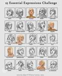 25 expressions - Sarah