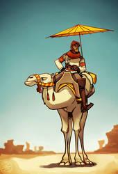 The captain's ride by zazB