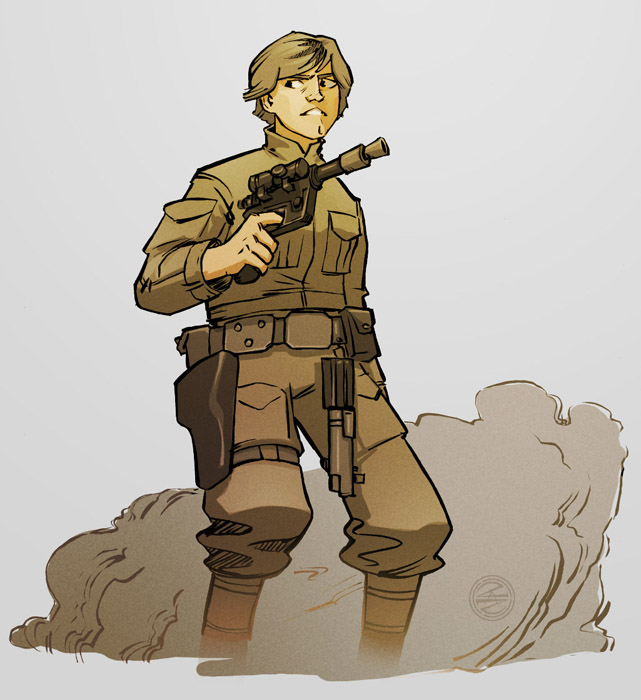 Luke Skywalker in 120 minutes by zazB