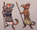 Weasels and Armors