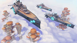 CloudShips by zazB