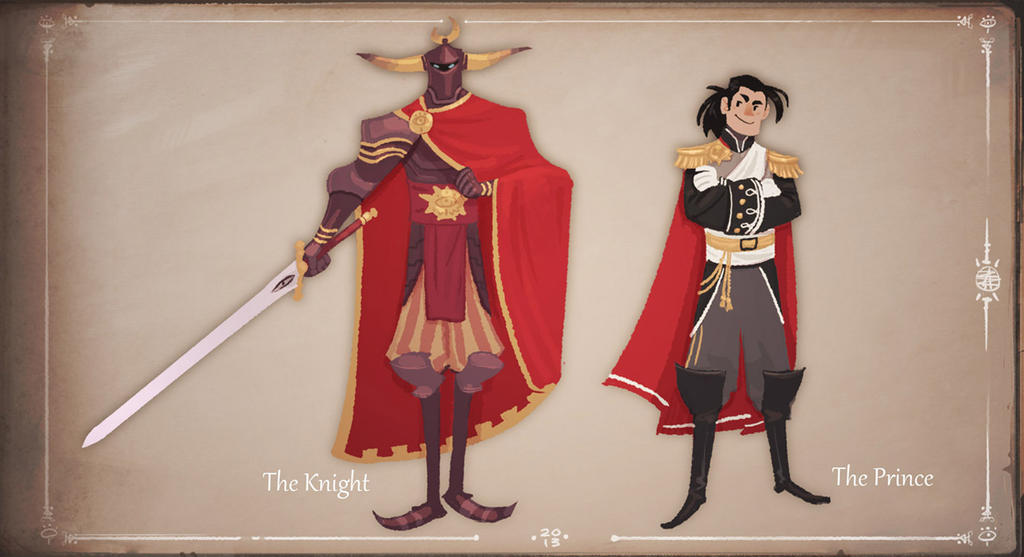The Knight and the Prince by zazB