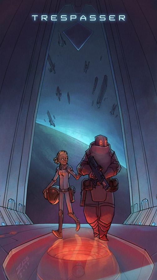 Trespasser Poster by zazB