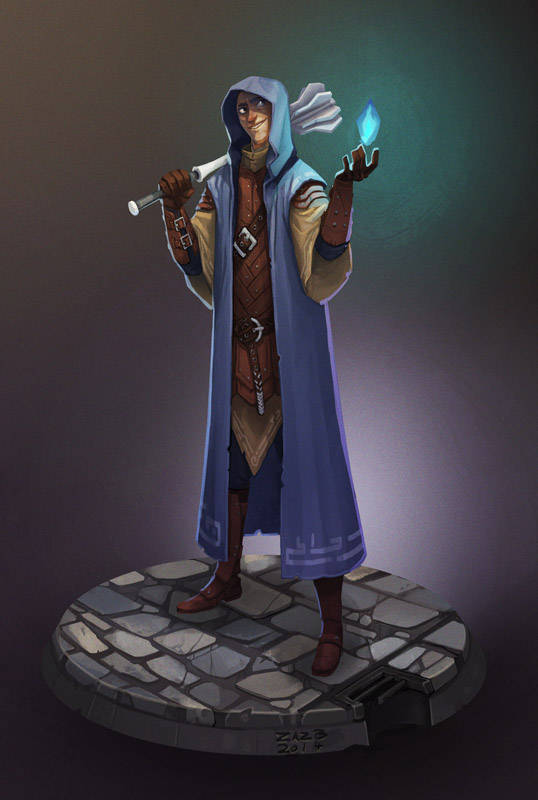 Elf Trickster Cleric by zazB