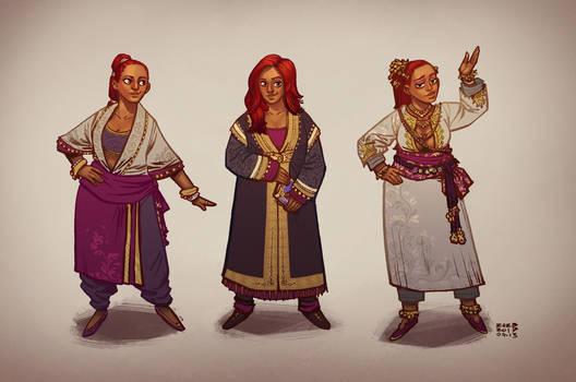 Nevhna - Costume Concepts
