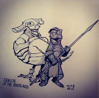 Dragon of the Riverlands by zazB