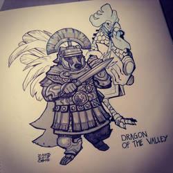 Dragon of the Valley by zazB