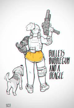 Bullets, Bubblegum and a Beagle