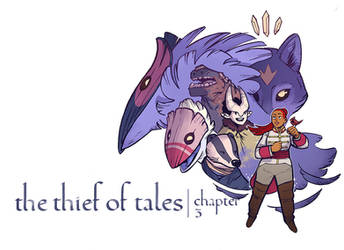 The Thief of Tales - Chapter 3 Cover by zazB