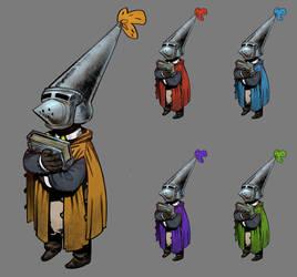 Apprentice Wizard - Brynja by zazB