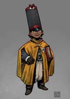 Apprentice Wizard - Colby by zazB