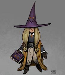 Apprentice Wizard - Deistrid by zazB