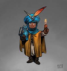 Apprentice Wizard - Alfrun by zazB