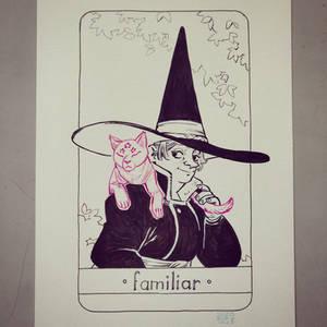 The spells of Professor Firebolt - Familiar