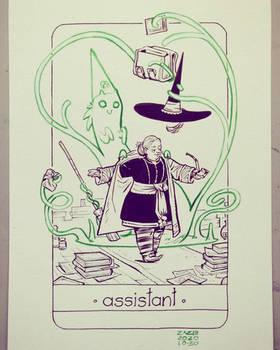 The Spells of Professor Firebolt -  Assistant