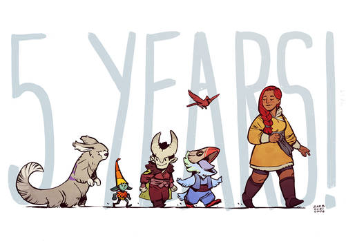 The Thief of Tales - 5 Years Anniversary