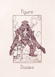 The Mechanical Arcana - Figure of Blades