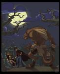 Harry Potter and the Werewolf by zazB