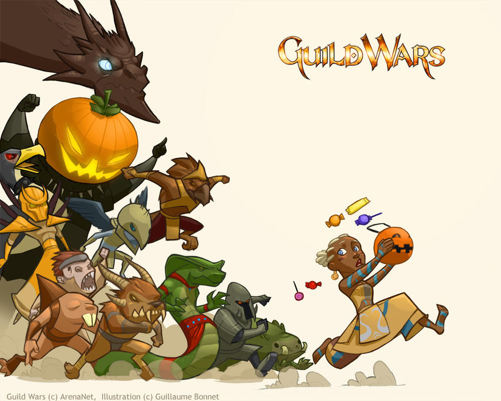 Guild Wars Halloween part 2 by zazB