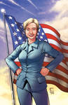 Hillary Clinton - Comic Cover