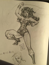 Wonder Woman DC Comics Sketch